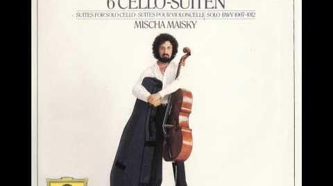 Bach Cello Suite No