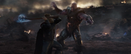 Thor fights Thanos