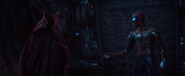 AIW Iron Spider Meeting Cloak of Levitation