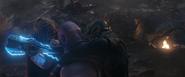 Thor & Cap v Thanos