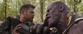 Thor presume su victoria a Thanos