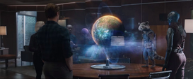 Vengadores rastrean a Thanos