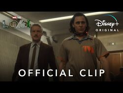 """""""Introducing Agent Mobius"""" Clip - Marvel Studios' Loki - Disney+"""