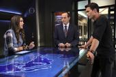 Skye investiga sobre el bastón con Coulson y Ward