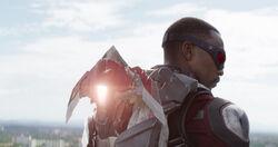 Falcon deploying Redwing
