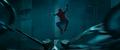 Hombre Araña salta sobre las alas del Buitre