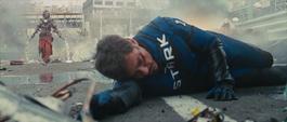 Stark es atacado por Vanko