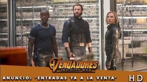 Vengadores Infinity War de Marvel Anuncio Entradas ya la venta HD