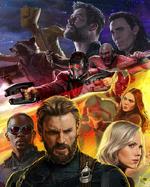 Avengers Infinity War - Póster 3 SDCC