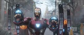 Stark con su nueva armadura
