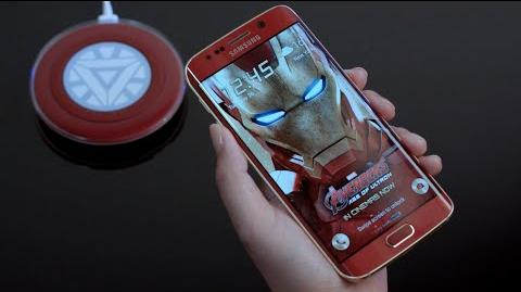 Galaxy S6 edge Iron Man Limited Edition - Official Unboxing