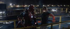 Iron Man confrontando a Killian