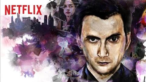 Marvel - Jessica Jones - Cartel con Kilgrave - Netflix HD