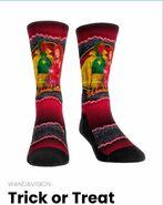 Trick or Treat socks on WandaVision Merchandise