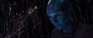 Nebula contacta a Mantis