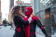 Spider-Man y Michelle Jones juntos - Far From Home