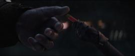 Thanos recibe las Partículas Pym