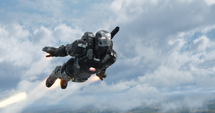 Maquina de Guerra volando - CW