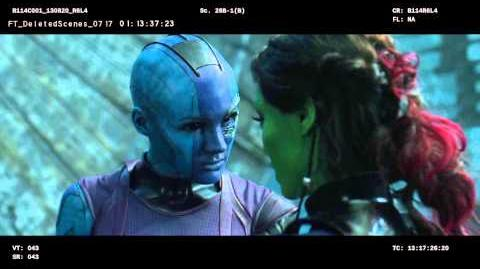 Sisterly Love - Marvel's Guardians of the Galaxy Blu-ray Deleted Scene 1