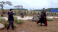 Thor in Wakanda (AIW BTS)
