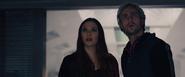 Wanda y Pietro descubren los planes de Ultrón
