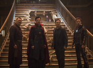 Stark Strange Banner y Wong en el Santuario