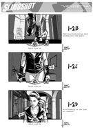 'Slingshot' storyboards - Joe Quesada - 1