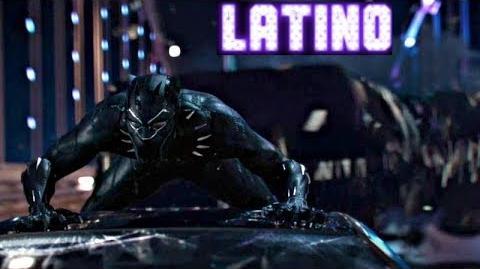 Pantera Negra (2018) Primer Teaser Doblado Español Latino Black Panther