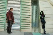 Star-Lord and Gamora
