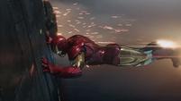 Stark empujando el motor