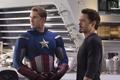 Capitan America y Tony Stark