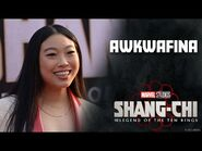 Awkwafina On Stunt Driving and More Secrets - Marvel Studios' Shang-Chi Red Carpet LIVE