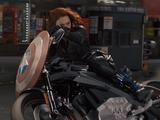 Motocicleta de Black Widow