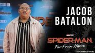 """Spider-Man's """"sidekick"""" Jacob Batalon LIVE from the Spider-Man Far From Home red carpet!"""
