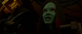 Gamora escapa de Nebula
