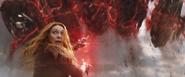 Wanda detiene las maquinas trilladoras - Infinity War