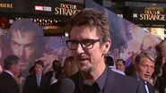 Director Scott Derrickson on Marvel's Doctor Strange Red Carpet Premiere