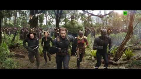 Vengadores Infinity War de Marvel Nuevo anuncio oficial en español HD