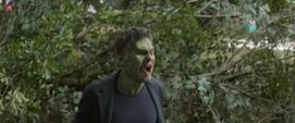 Hulk se niega a escuchar a Banner