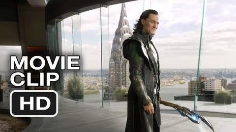 The Avengers 1 Movie CLIP - Loki's Threat (2012) Marvel Movie