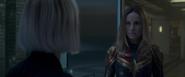 CM Post-créditos - Danvers encuentra a los Vengadores