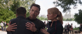 Banner se reencuentra con Stark