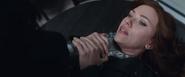 Natasha asfixiada por Bucky