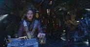 Quill localiza la nave Asgardiana