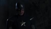 Capitan America confrontando a Thor