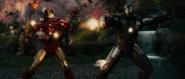 Iron Man y Máquina de Guerra juntos