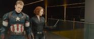 Steve y Natasha Nuevos Vengadores