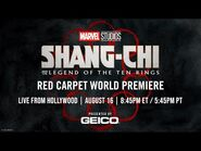 Marvel Studios' Shang-Chi and the Legend of the Ten Rings - Red Carpet LIVE!