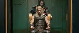 Thor antes de ir a la arena