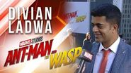 Divian Ladwa at Marvel Studios' Ant-Man and The Wasp Premiere